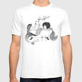 Broad City Mermaid Fan Art T-shirt
