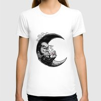 rockabilly T-shirts featuring Rockabilly moon by Kabay