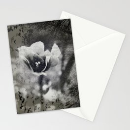 Eerie Flower Stationery Cards