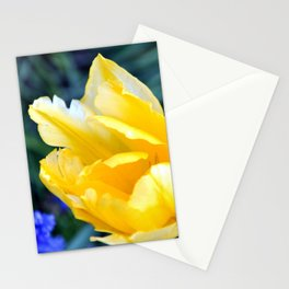 BRIGHT YELLOW TULIP Stationery Cards