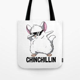 Dabbing Chinchillin T Shirt Chinchilla Cute Pet Tote Bag