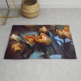Tulips with Attitude Rug