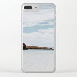 Minimal Landscape in La Paz, Baja Clear iPhone Case