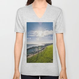 Irish landscape Unisex V-Neck