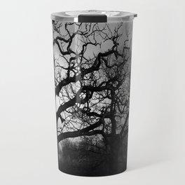 Eerie winter trees Travel Mug