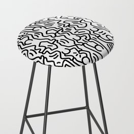 Homage to Keith Haring Acrobats Bar Stool