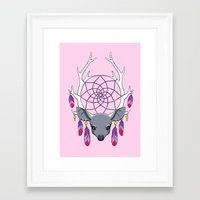 dreamcatcher Framed Art Prints featuring Dreamcatcher by Freeminds