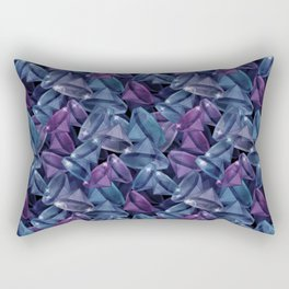 Gems . The alexandrite . Rectangular Pillow