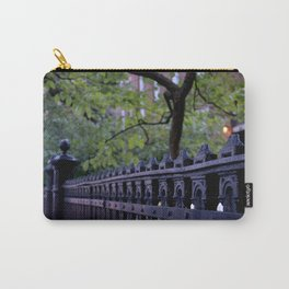 Fence Detail Carry-All Pouch