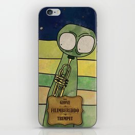 Filiberiddo from Jupiter (Trumpet) iPhone Skin
