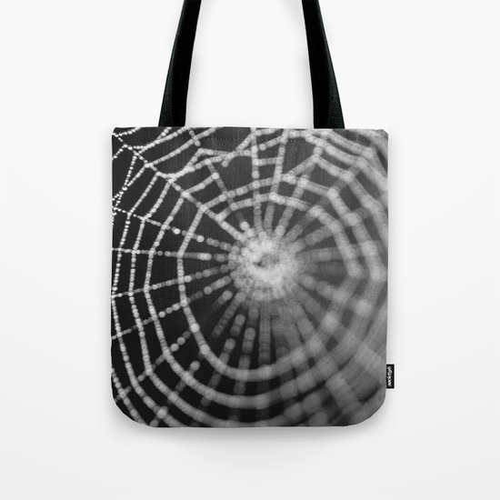 Bokeh Web  Tote Bag
