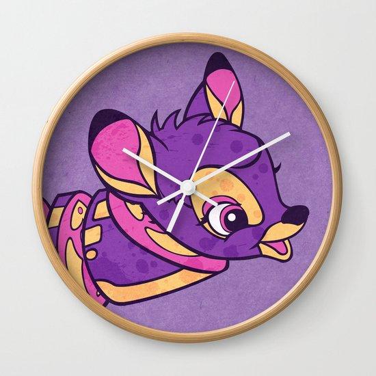 Bambi Venison Wall Clock