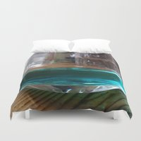 drink Duvet Covers featuring drink by Beatrice