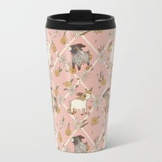 goat pattern 2 Travel Mug