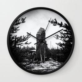 MAGNETIC ROCK Wall Clock