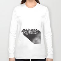 cuddle Long Sleeve T-shirts featuring Lets Cuddle by Joganic