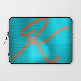 Metallic K Laptop Sleeve