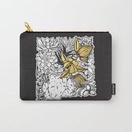 Flowers Of New Mexico Carry-All Pouch
