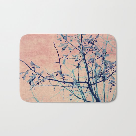 winter whispers Bath Mat