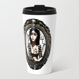 American Mcgee's Alice: Cracked mirror Travel Mug