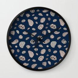 Blue Geos Wall Clock