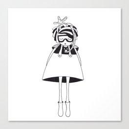 Mrs Starfish Canvas Print