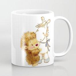 Baby Hedgehog Hedgie Pony Horse Nursery Room Coffee Mug