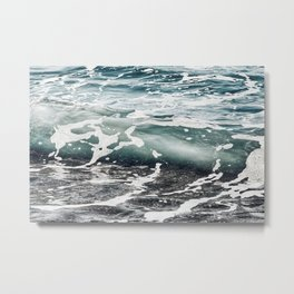 Clearly Metal Print