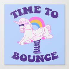 Time To Bounce Canvas Print