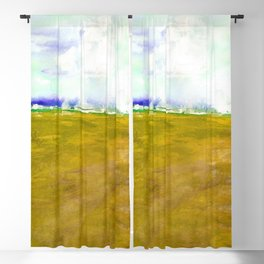 Journey No.600l by Kathy Morton Stanion Blackout Curtain