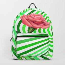 Hipnotic Rose Green Backpack