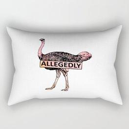 Allegedly Rectangular Pillow