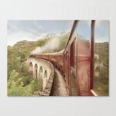 Full Steam Ahead Canvas Print