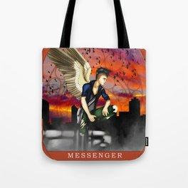 Wings Of Faith : Messenger Tote Bag