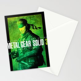 Metal Gear Solid  Stealth Stationery Cards
