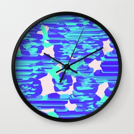 Line art Wall Clock