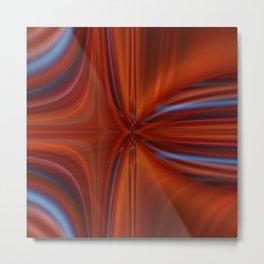 Abstract orange 2 Metal Print