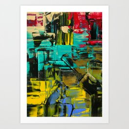 such thoughts Art Print