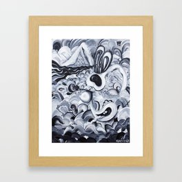 Repeat Junior Framed Art Print
