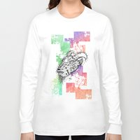 goat Long Sleeve T-shirts featuring Goat  by LSjoberg