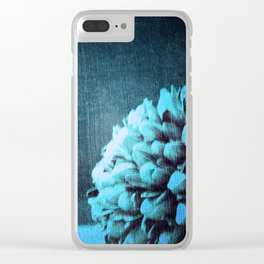 Blue Pods Clear iPhone Case
