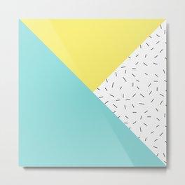 Geometry love Metal Print