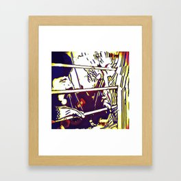 On Guard Framed Art Print