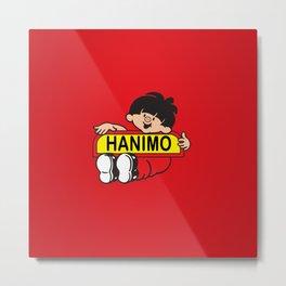 Hanimo Metal Print