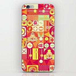 Electro Circus iPhone Skin