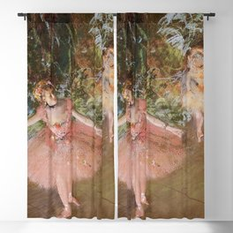 Dancer On Stage By Edgar Degas   Reproduction   Famous French Painter Blackout Curtain