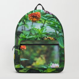 fence flowers Backpack