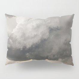 Marshmallow - Storm Cloud Over Golden Wheat in Kansas Pillow Sham