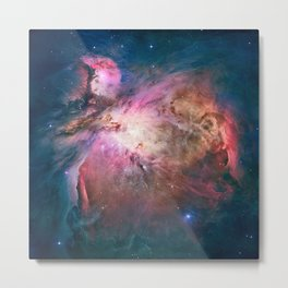 Great Nebula in Orion, Messier 42. Metal Print