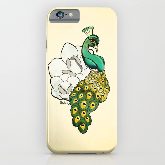 Magnolia Peacock iPhone & iPod Case
